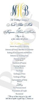 Simple Wedding Reception Program Sample Ideas 28