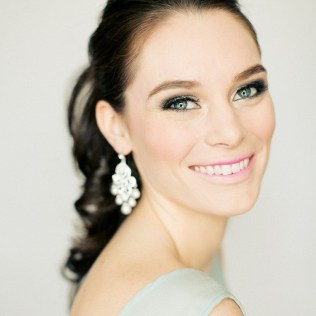 Soft and Romantic wedding makeup looks for fair skin 18