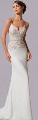 Spaghetti Strap Wedding Day Dresses Gowns ideas 11