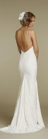Spaghetti Strap Wedding Day Dresses Gowns ideas 15