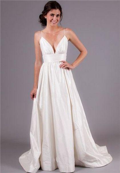 Spaghetti Strap Wedding Day Dresses Gowns ideas 25