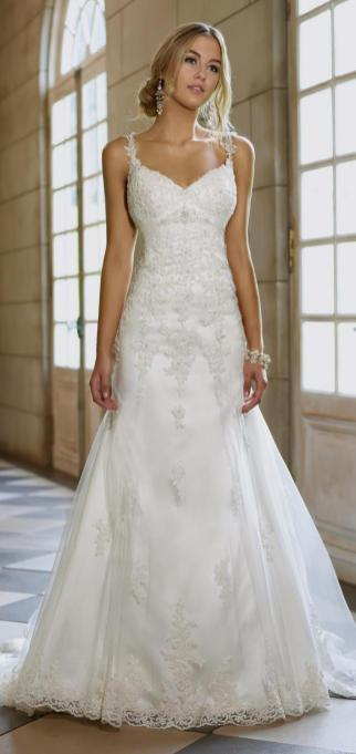 Spaghetti Strap Wedding Day Dresses Gowns ideas 32