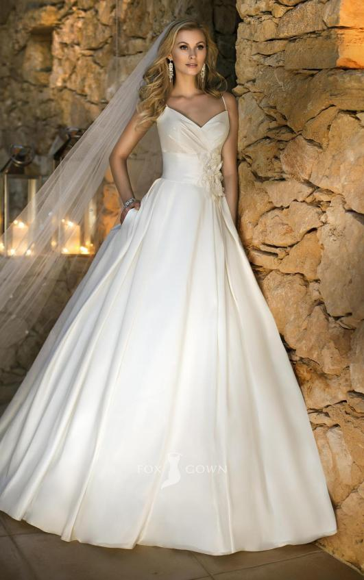 Spaghetti Strap Wedding Day Dresses Gowns ideas 38