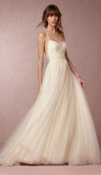 Spaghetti Strap Wedding Day Dresses Gowns ideas 40