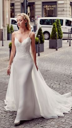 Spaghetti Strap Wedding Day Dresses Gowns ideas 60
