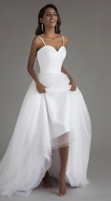 Spaghetti Strap Wedding Day Dresses Gowns ideas 74