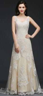 Spaghetti Strap Wedding Day Dresses Gowns ideas 75