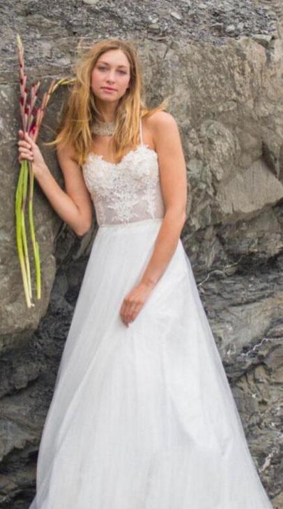 Spaghetti Strap Wedding Day Dresses Gowns ideas 85
