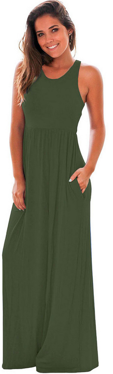 Women Casual Long Maxi Dresses with Pockets ideas 13