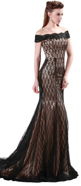 Women Sexy 30s Brief Elegant Mermaid Evening Dress ideas 31