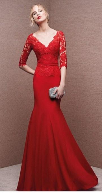 Women Sexy 30s Brief Elegant Mermaid Evening Dress ideas 38