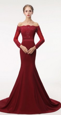 Women Sexy 30s Brief Elegant Mermaid Evening Dress ideas 41