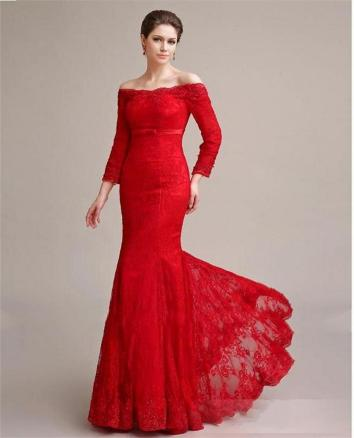 Women Sexy 30s Brief Elegant Mermaid Evening Dress ideas 42