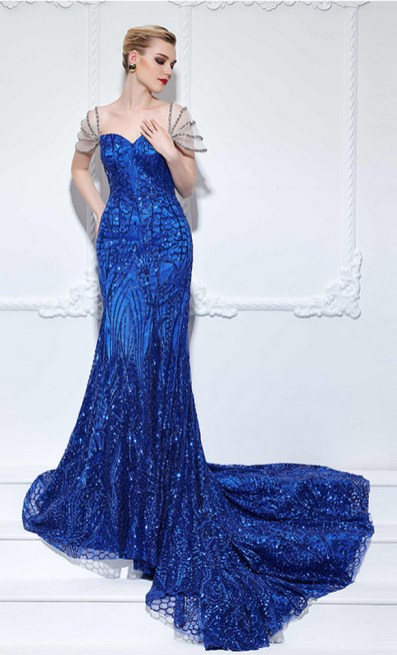 Women Sexy 30s Brief Elegant Mermaid Evening Dress ideas 6