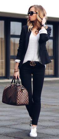 Womens blazer outfit ideas 22