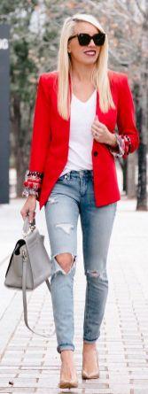 Womens blazer outfit ideas 24