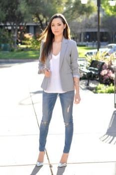 Womens blazer outfit ideas 48