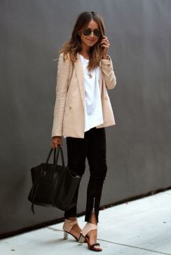 Womens blazer outfit ideas 61