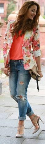 Womens blazer outfit ideas 74