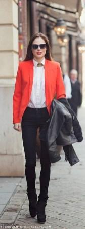 Womens blazer outfit ideas 87