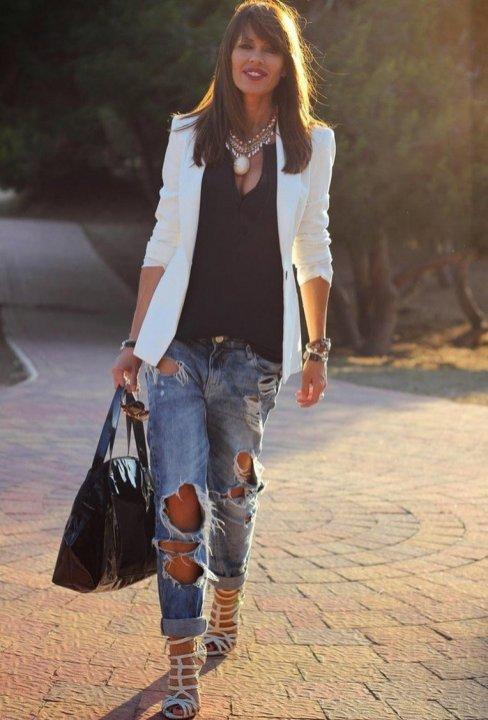 Womens blazer outfit ideas 91