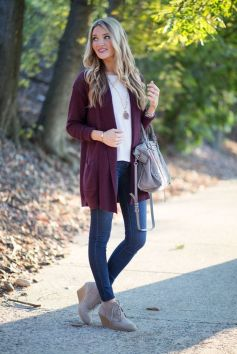 World of jeans cute winter outfits ideas 28