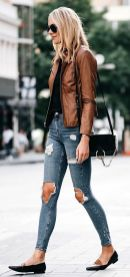 World of jeans cute winter outfits ideas 32