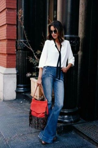 World of jeans cute winter outfits ideas 4