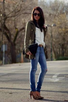 World of jeans cute winter outfits ideas 5