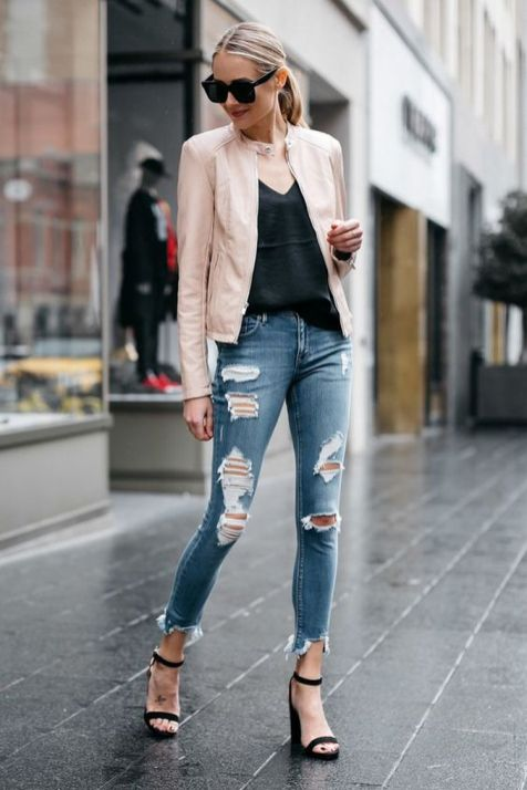 World of jeans cute winter outfits ideas 6