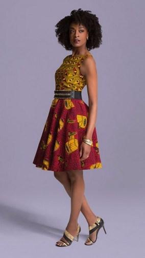 african prints short dresses 14