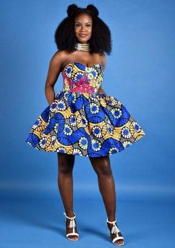 african prints short dresses 16