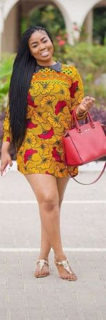african prints short dresses 17
