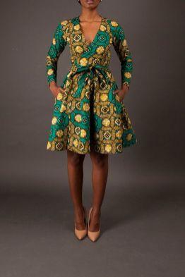 african prints short dresses 18