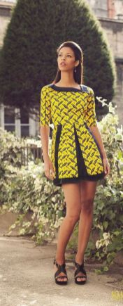 african prints short dresses 22