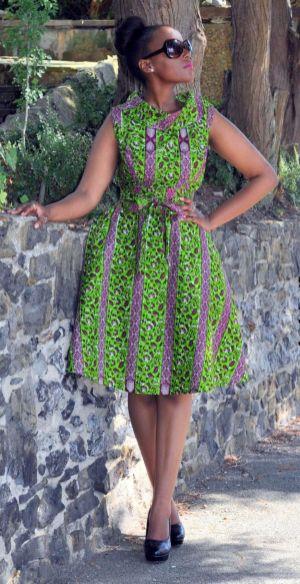 african prints short dresses 27