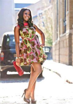 african prints short dresses 29