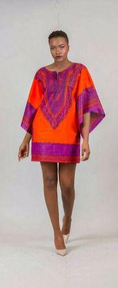 african prints short dresses 3