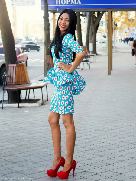 african prints short dresses 32