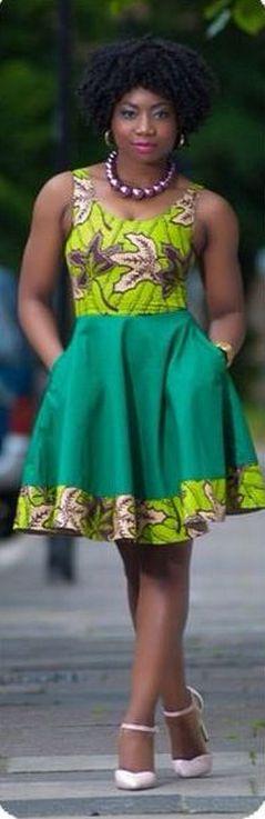 african prints short dresses 34