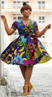african prints short dresses 4