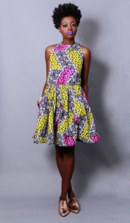 african prints short dresses 40