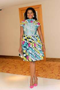 african prints short dresses 5