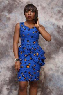 african prints short dresses 6