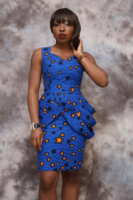 african prints short dresses 6