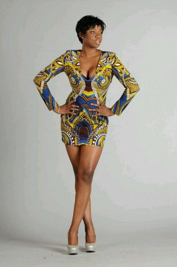 african prints short dresses 9