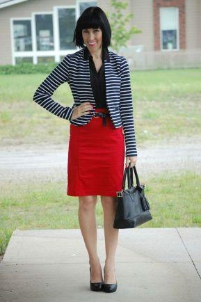 black and white striped blazer womens 2