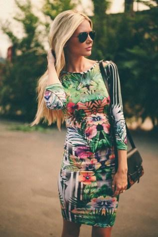 hawaiian prints dresses ideas 3