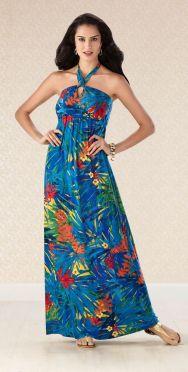 hawaiian prints dresses ideas 43