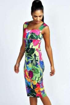 hawaiian prints dresses ideas 47